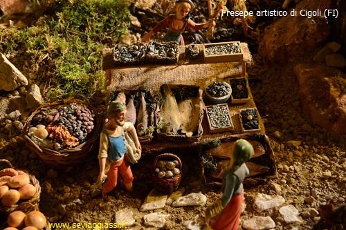 Presepe artistico e tecnologico di Cigoli