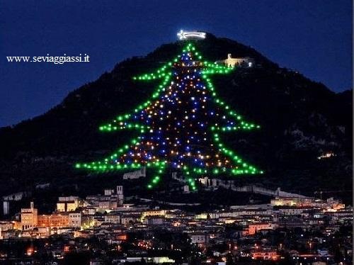 Visita Gubbio, la città dell'albero di Natale più grande del mondo