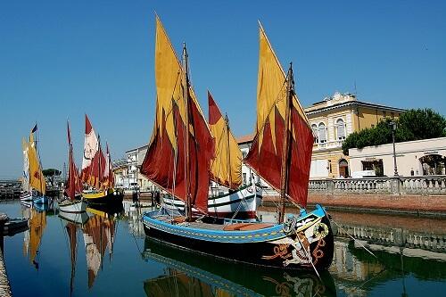 Cesenatico, il canale e la tradizione marinara