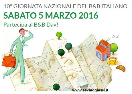 Torna il B&B Day: dormire gratis al Bed and Breakfast