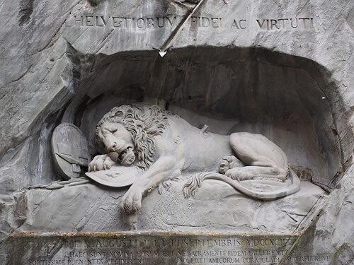 il leone di Lucerna