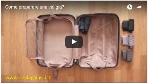 Come fare la valigia, in un video consigli pratici