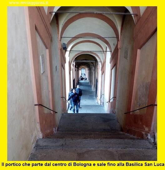Il portico di San Luca- Bologna, la partenza dalla Basilica