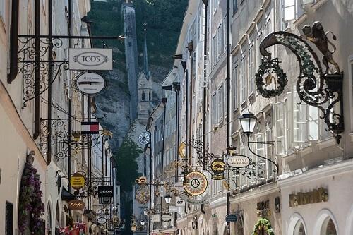 salisburgo centro storico