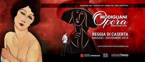 Opera Modigliani alla Reggia di Caserta