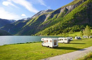 In camper al parco nazionale